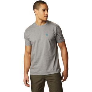 Mountain Hardwear Logo Kurzarm T-Shirt Herren heather manta grey heather manta grey