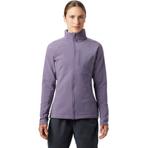 Mountain Hardwear Keele Full Zip Jacke Damen dusted sky dusted sky