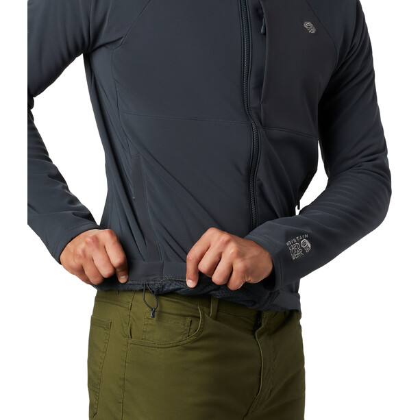 Mountain Hardwear Keele Hoodie Herren grau