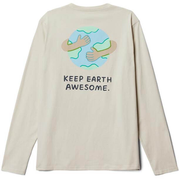 Mountain Hardwear Keep Earth Awesome Langarm T-Shirt Herren stone