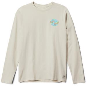 Mountain Hardwear Keep Earth Awesome Langarm T-Shirt Herren stone stone