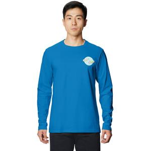 Mountain Hardwear Keep Earth Awesome Langarm T-Shirt Herren blue horizon blue horizon