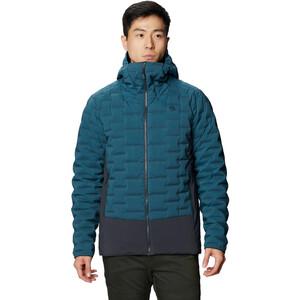 Mountain Hardwear Stretchdown Hybrid Hoodie Herren icelandic icelandic