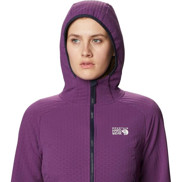 Mountain Hardwear Keele Ascent Hoodie Damen lila