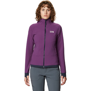 Mountain Hardwear Keele Ascent Hoodie Damen cosmos purple cosmos purple