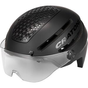 Cratoni Commuter Pedelec Helm black matte black matte