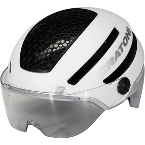 Cratoni Commuter Pedelec Helm white matte white matte