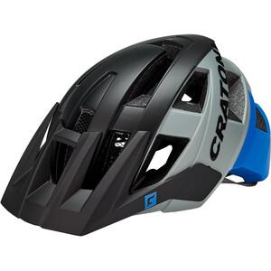 Cratoni AllSet MTB Helmet, musta/sininen musta/sininen