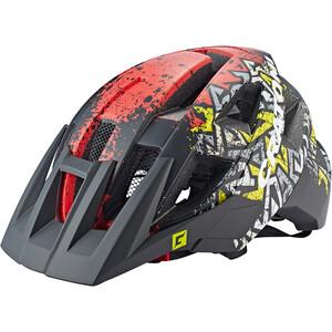 Cratoni AllSet MTB Helmet, musta/punainen musta/punainen
