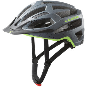 Cratoni C-Flash MTB Helm grey/lime matte grey/lime matte