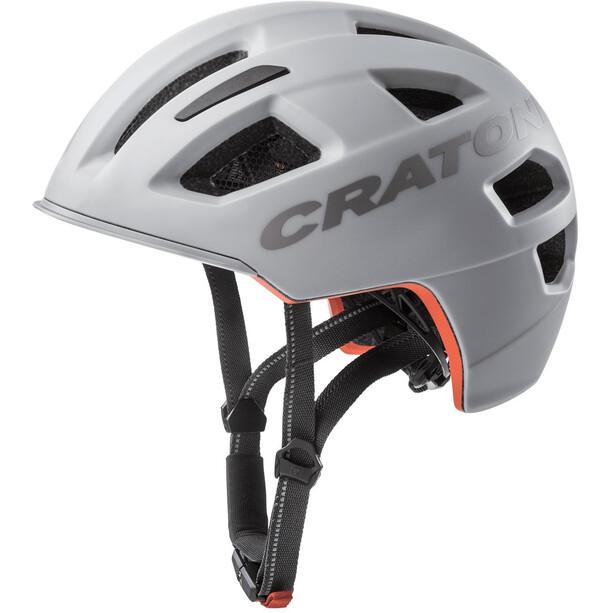 Cratoni C-Pure City Helm grey matte