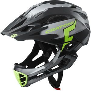 Cratoni C-Maniac Pro MTB Helmet, musta musta