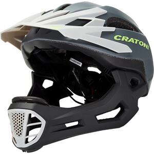 Cratoni C-Maniac Freeride Kypärä, harmaa/musta harmaa/musta