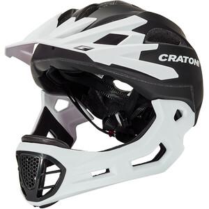 Cratoni C-Maniac Freeride Kypärä, musta/valkoinen musta/valkoinen
