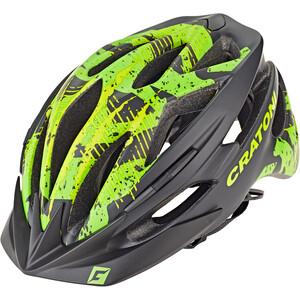 Cratoni Pacer MTB Helm black/lime matte black/lime matte