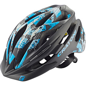 Cratoni Pacer MTB Helm schwarz/blau schwarz/blau