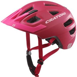 Cratoni Maxster Pro Hjelm Barn rød/Rosa rød/Rosa