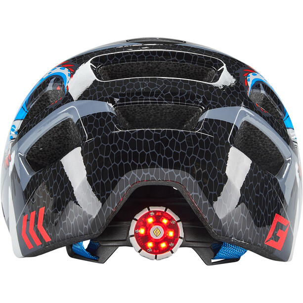 Cratoni Maxster Helm Kinder dragon/black gloss