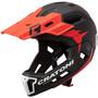Cratoni C-Maniac 2.0 MX Casque De Vtt, noir/rouge
