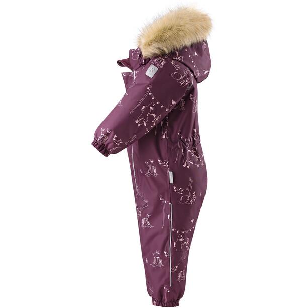 Reima Lappi Winter Overall Toddler deep purple