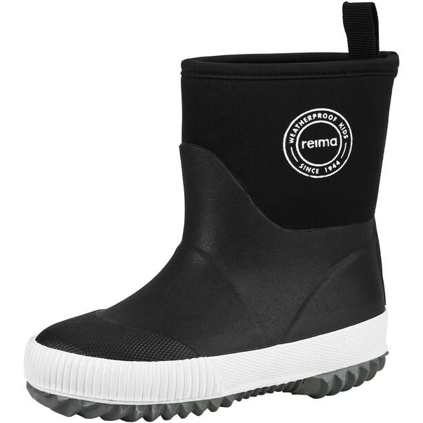Reima Leapster Rain Boots Kids black