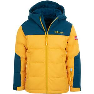 TROLLKIDS Narvik XT Veste Enfant, jaune/bleu jaune/bleu