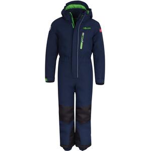 TROLLKIDS Isfjord Combinaison de ski Enfant, bleu bleu
