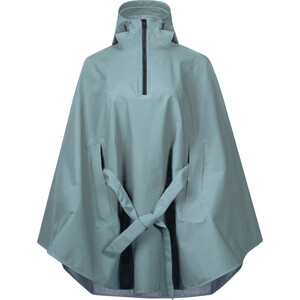 Bergans Oslo 3L Poncho Naiset, light forest frost light forest frost
