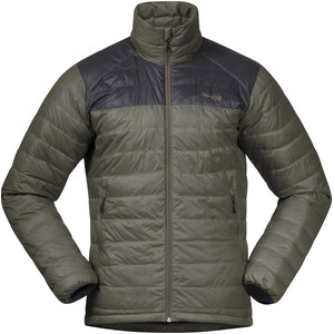 Bergans Rabot 365 Kevytuntuvatakki Miehet, green mud/solid charcoal green mud/solid charcoal