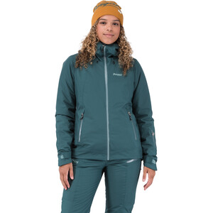 Bergans Stranda Isolierende Hybrid Jacke Damen forest frost forest frost