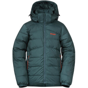 Bergans Røros Down Jacket Boys forest frost/br magma forest frost/br magma
