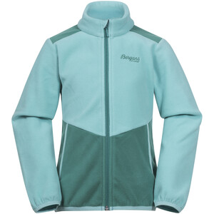 Bergans Lilletind Fleece Jacket Kids light greenlake/greenlake light greenlake/greenlake