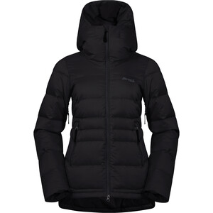 Bergans Stranda Down Hybrid Jacket Women black/solid charcoal black/solid charcoal