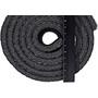 CAMPZ Aluminium Isomatte Einlagig 200x55cm schwarz/silber