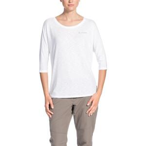 VAUDE Skomer 3/4-hihainen paita Naiset, white white