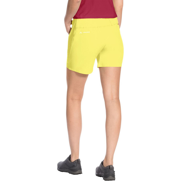 VAUDE Scopi LW II Shorts Damen gelb