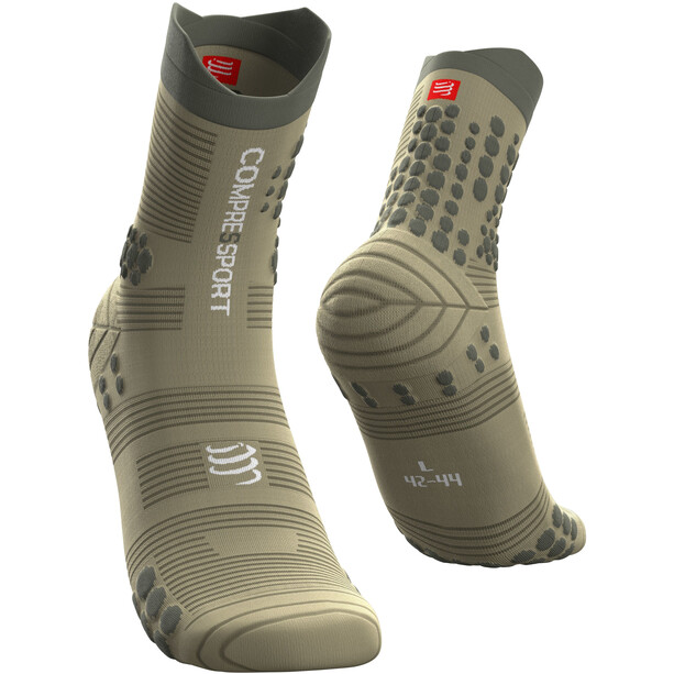 Compressport Pro Racing V3.0 Trail Socken dusty olive