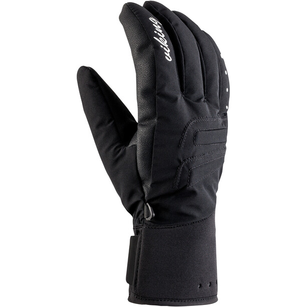 Viking Europe Tramontana Merino Ski Gloves Women, musta