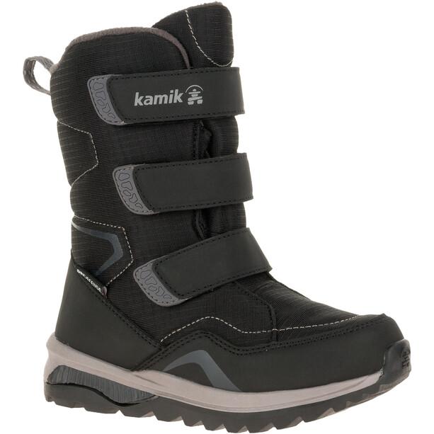 Kamik Chinook HI Stiefel Kinder black