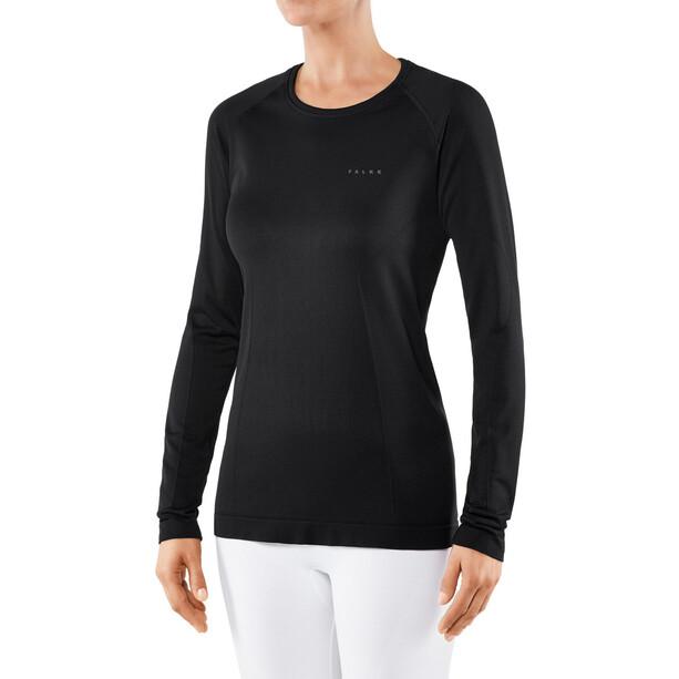 Falke Artic Brush Langarmshirt Damen black