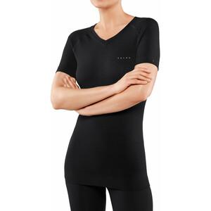 Falke Wool Tech Light Kurzarmshirt Damen schwarz schwarz