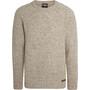Sherpa Khampa Rundhals Sweater Herren beige