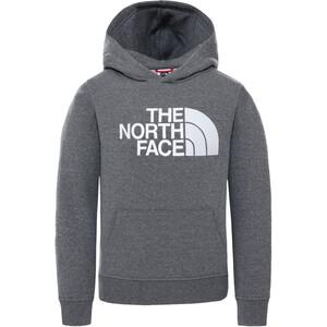 The North Face Drew Peak Capuchon Trui Kinderen, grijs grijs