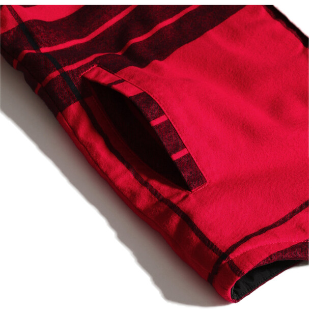 The North Face Campshire Chemise Homme, TNF red icon exploded twclrpld