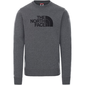 The North Face Drew Peak Rundhals Pullover Herren grau grau