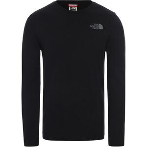 The North Face Easy Koszulka z długim rękawem Mężczyźni, czarny/szary czarny/szary