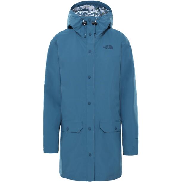 The North Face Liberty Woodmont Regenjacke Damen mallard blue