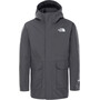 The North Face Mix-N-Match Triclimate Shell Jacke Jugend asphalt grey heather