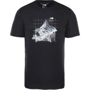 The North Face Alps First Ascents T-Shirt Col Ras-Du-Cou Homme, noir noir