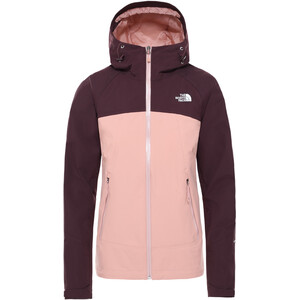 The North Face Stratos Jacke Damen pink clay/root brown pink clay/root brown